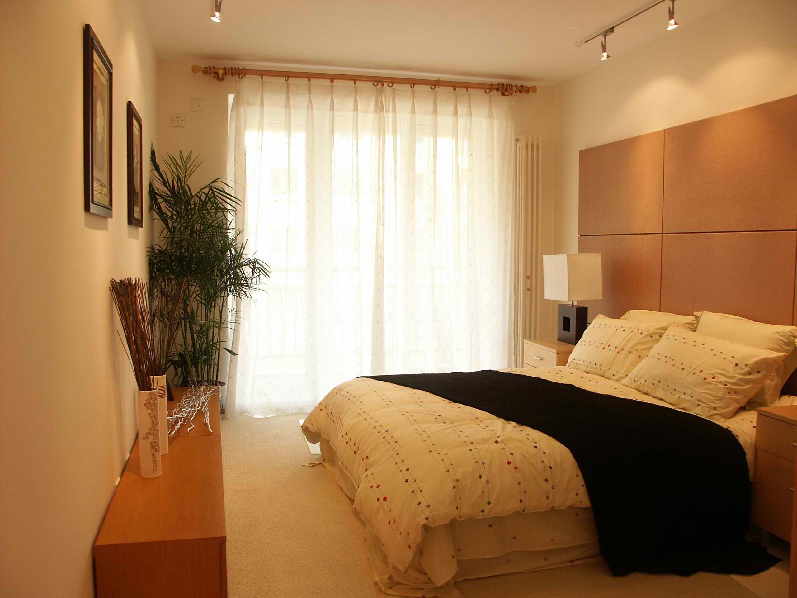 三居室 180㎡ 卧室装修效果图 现代简约 98平米二居室装